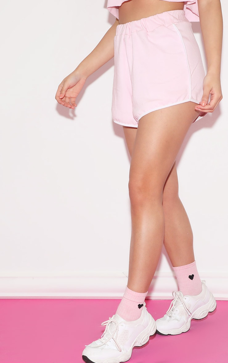 Girl Gang Shorts Baby Pink 3