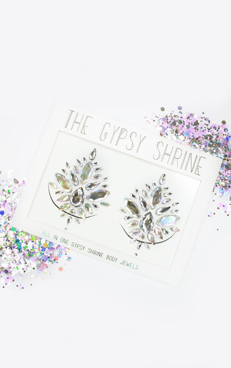 The Gypsy Shrine Silver All In One Body Boob Jewels  1