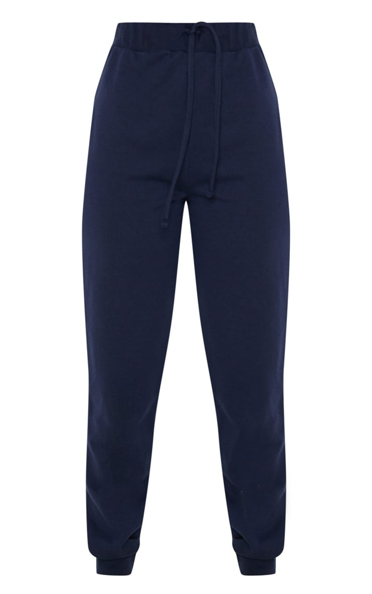 Navy Ultimate Marl Sweat Joggers  3