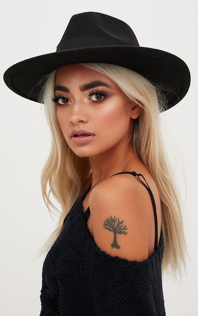 Basic Black Fedora Hat