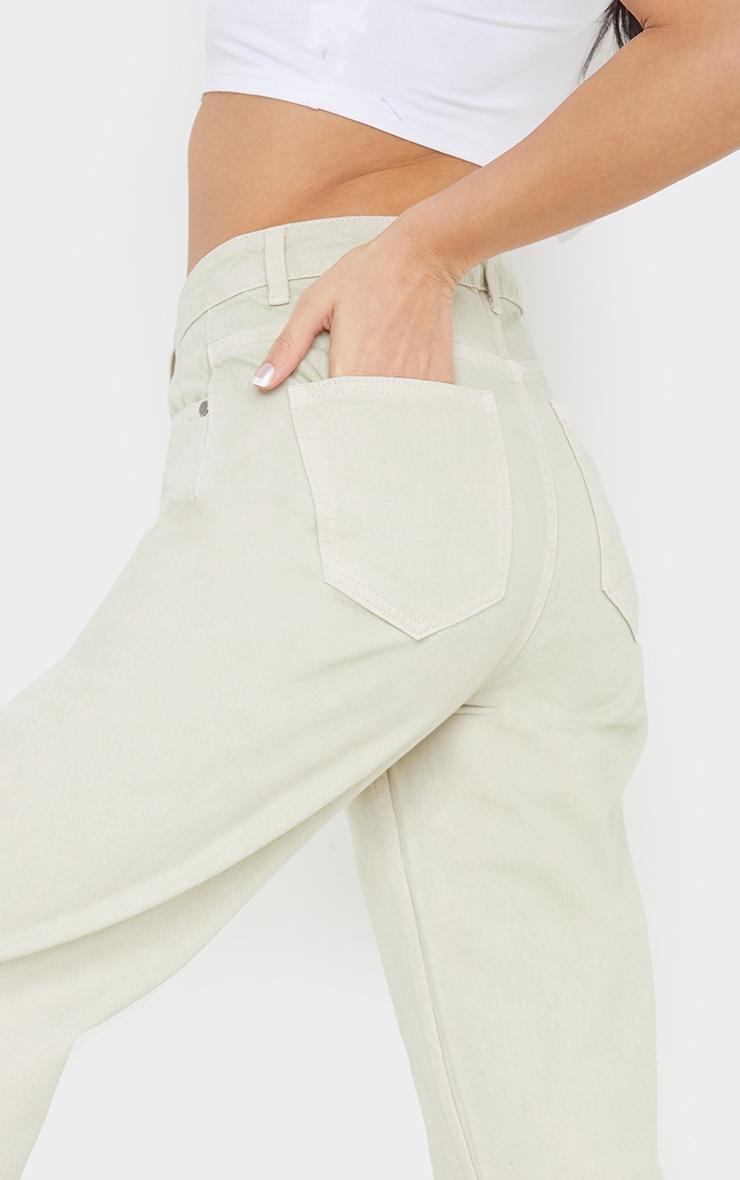 Stone Long Leg Straight Jeans 4