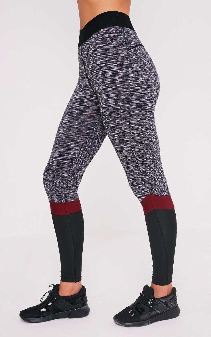 Kenna leggings de gym à empiècement baie 4