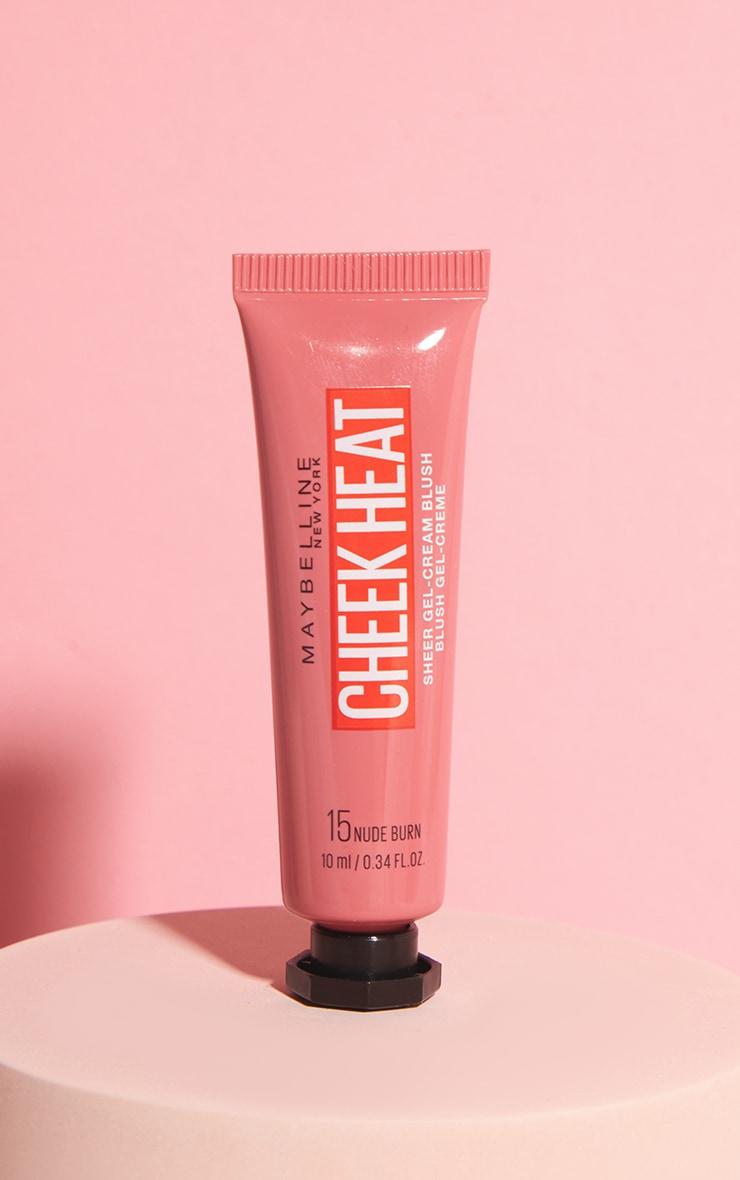 Maybelline - Blush gel hydratant Cheek Heat - 15 Nude Burn 1