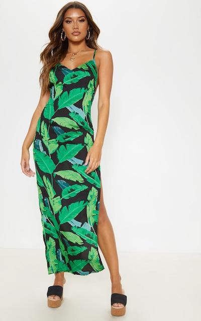 eafef5810644e5 Tropical Prints | Hawaiian & Tropical Print Dress | PrettyLittleThing IE