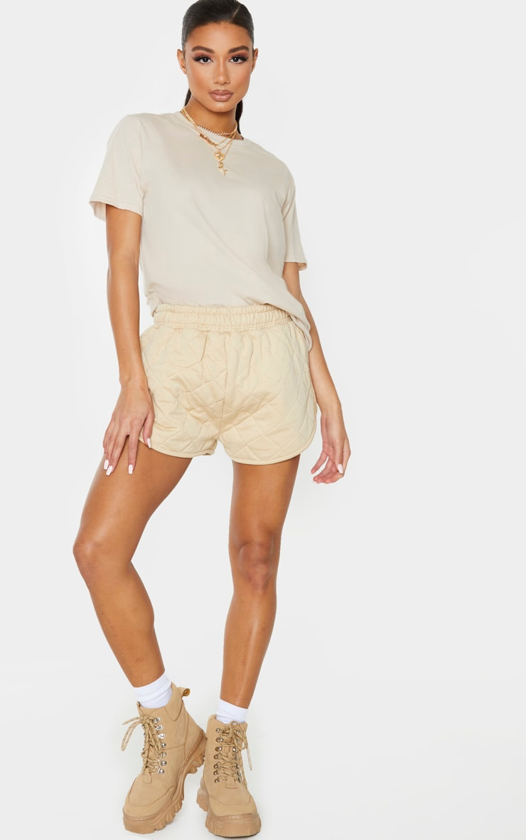 Stone Quilted Runner Short 1