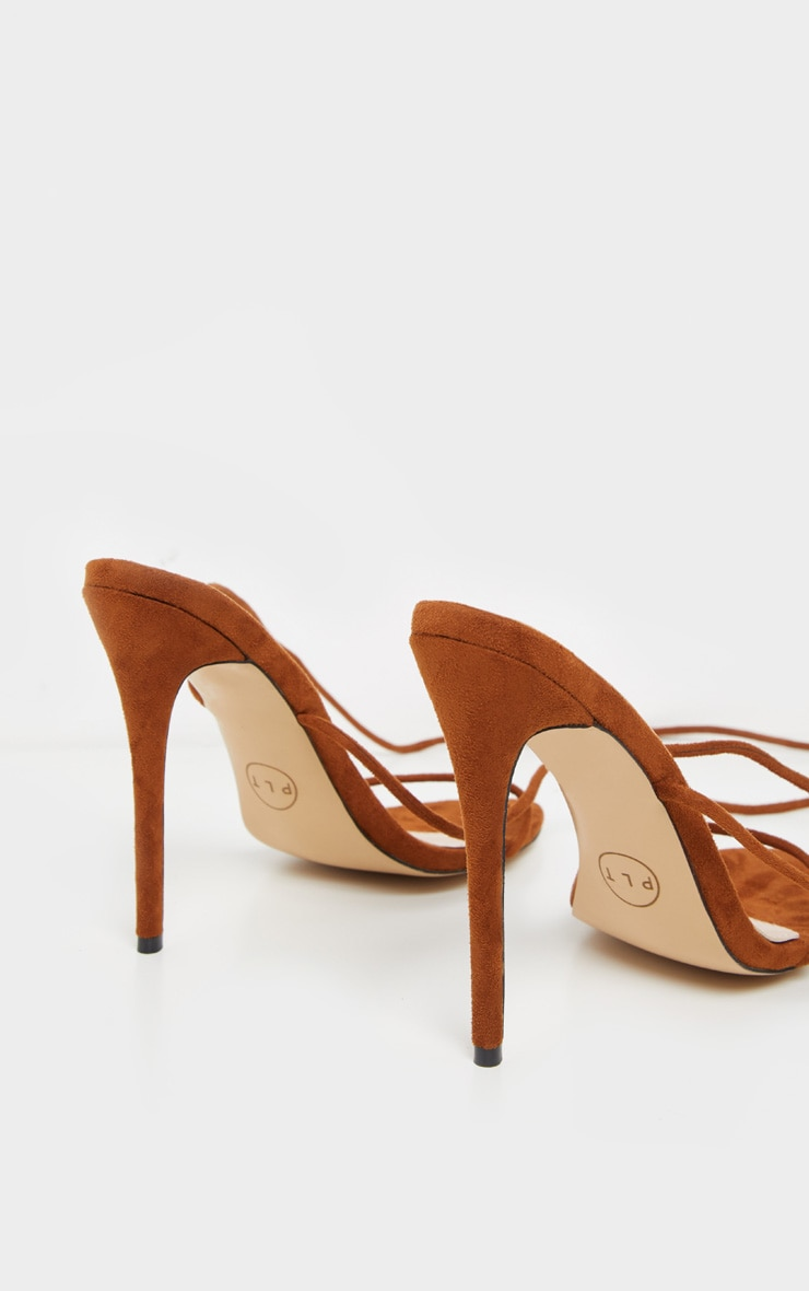 Chocolate Strappy Sandal 4