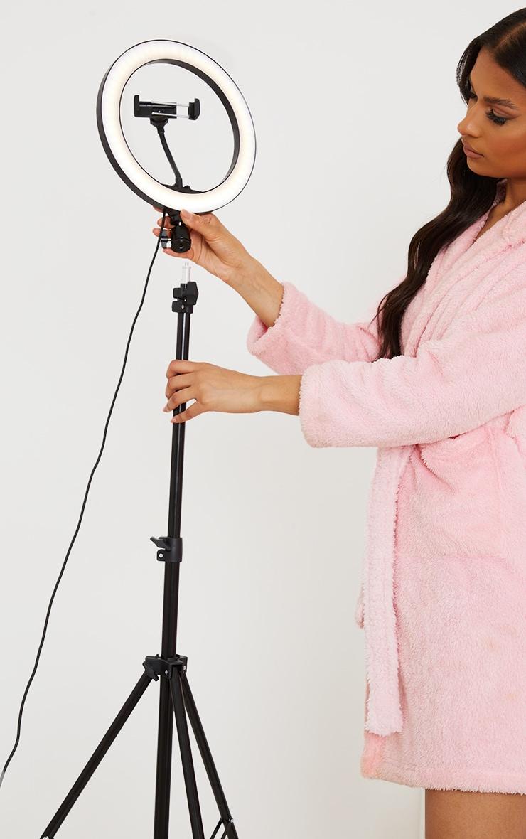 Trépied pour selfie avec anneau lumineux 1