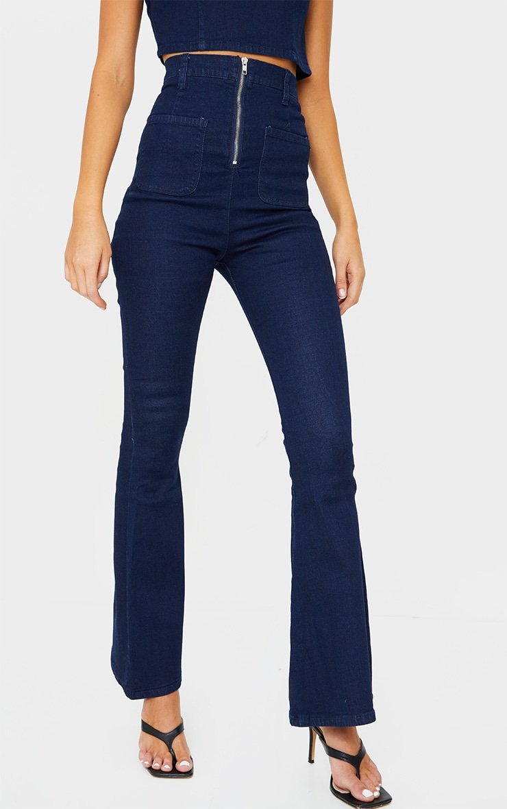 Indigo Kick Flared Jeans 2