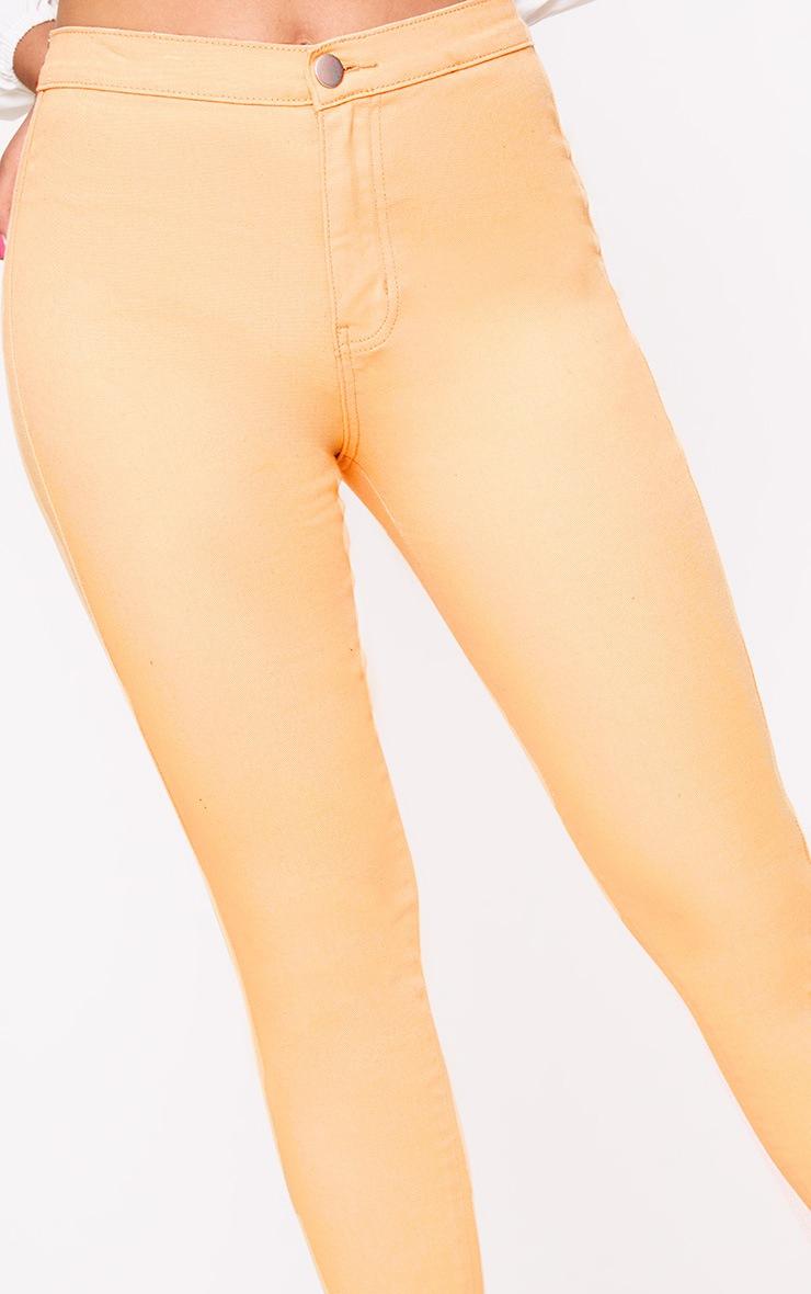 Orange Skinny Jean 5