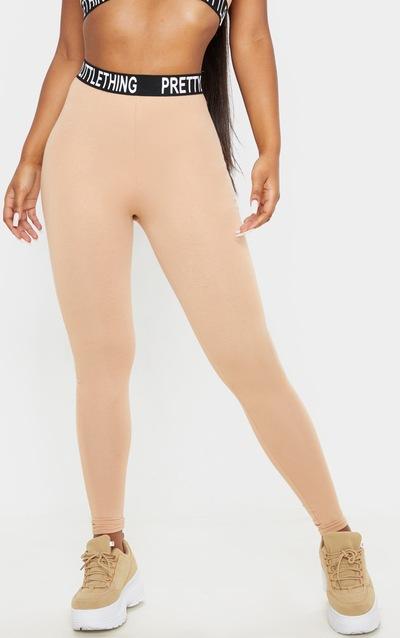 PRETTYLITTLETHING Fawn High Waist Legging