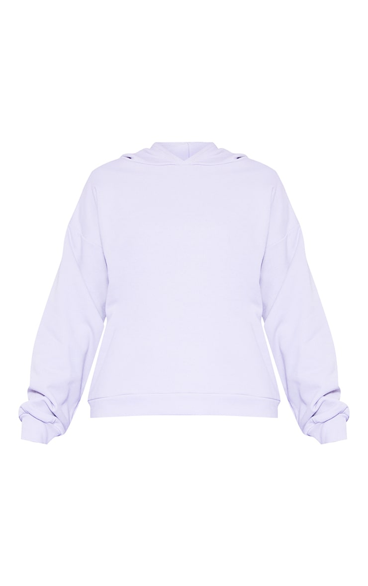 RECYCLED Pale Violet Oversized Hoodie 3