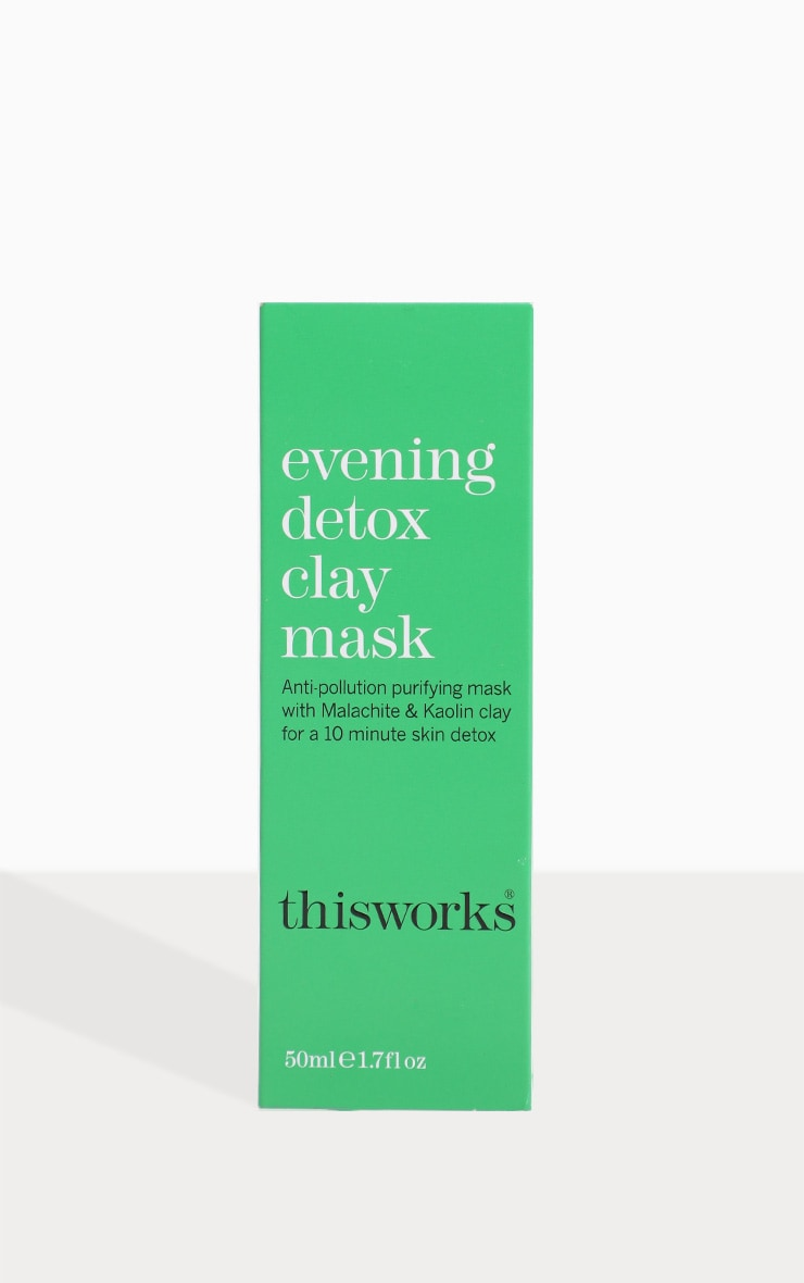 This Works Evening Detox Clay Face Mask 50ml 3