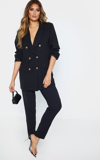 Tall Black Tailored Trouser