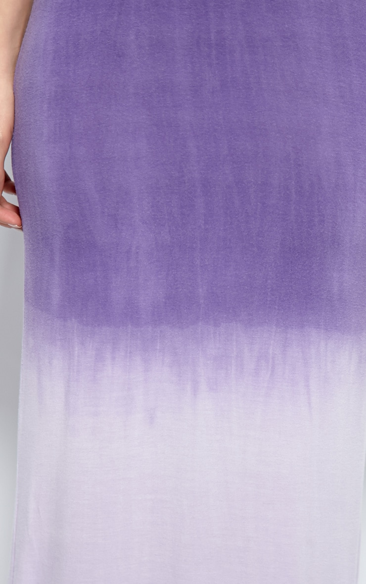 Tina Purple Ombre Maxi Dress 4