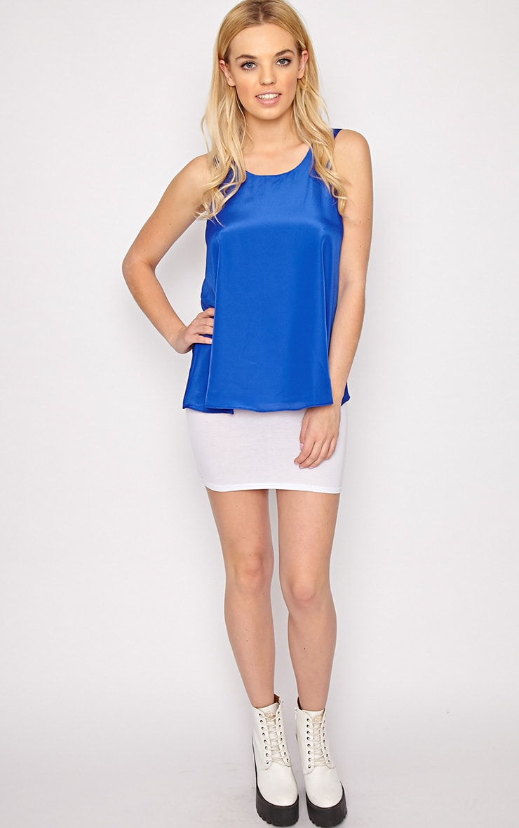 Morgan Cobalt Swing Vest 5