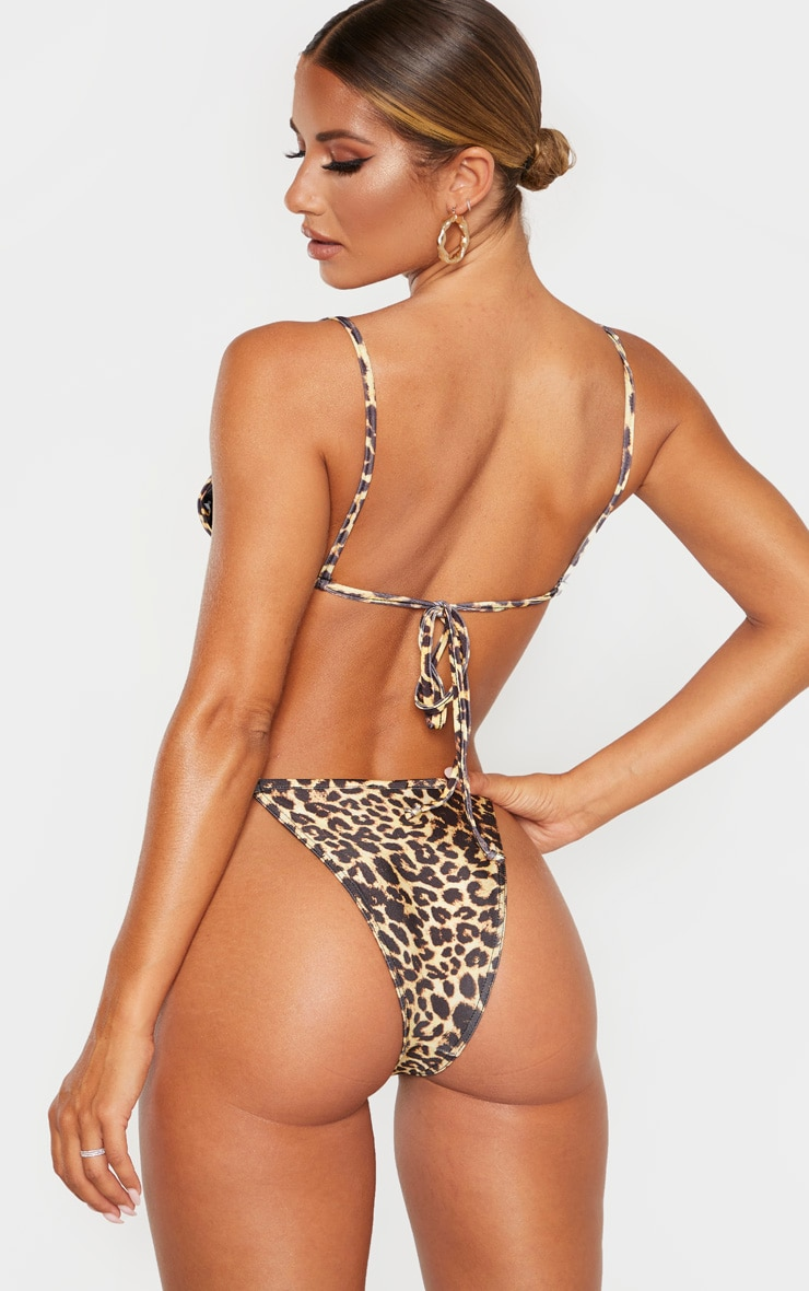 Leopard Mix & Match Itsy Bitsy Bikini Top 2