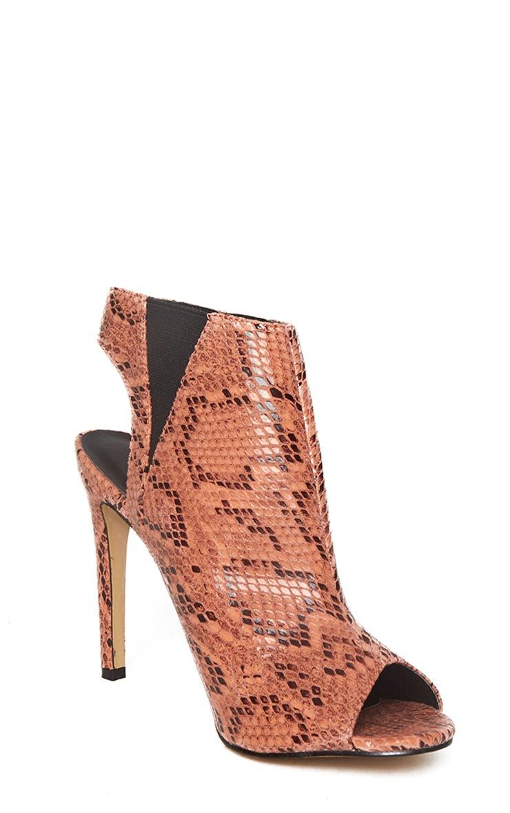 Raeanne Coral Open Heel Shoe 5
