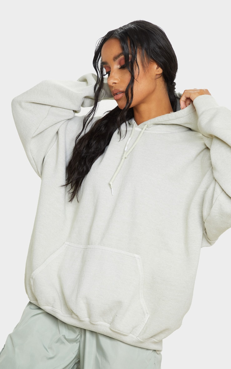 Sage Green Ultimate Oversized Hoodie 1