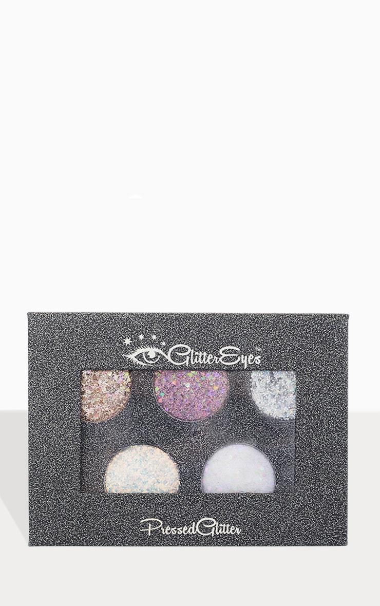 Palette de 5 fards à paupières Chunky GlitterEyes 1