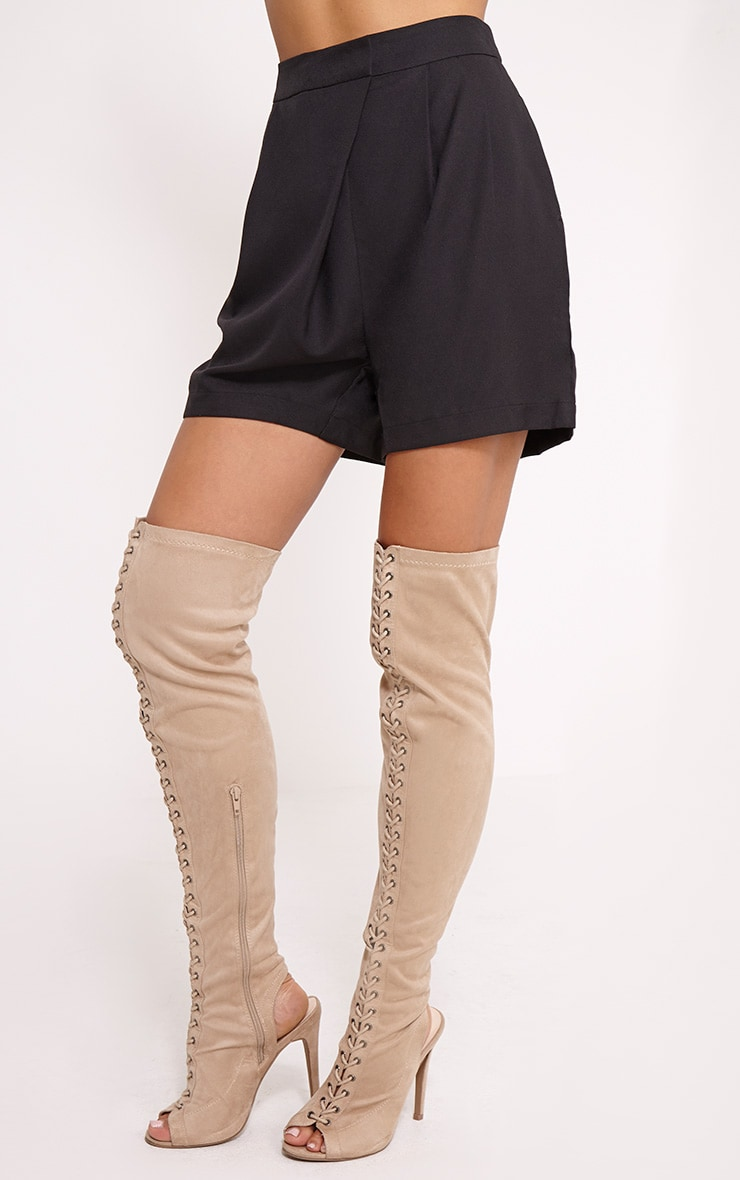 Patricia Black Loose Fit Tailored Shorts 3