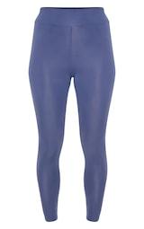 Legging de sport basique bleu pétrole. Leggings  2e8769fc64e