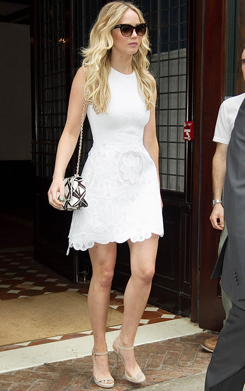 Trinny White Lace Dress 2
