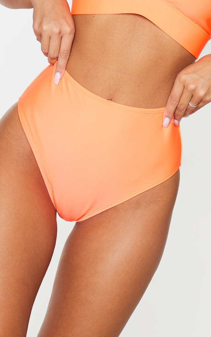 Coral Mix & Match High Waist Bikini Bottoms 5