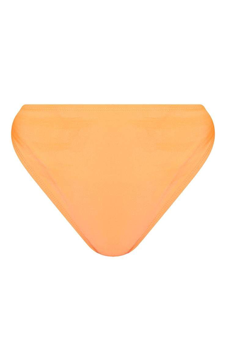 Recycled Orange Mix & Match Cheeky Bum Bikini Bottoms 5