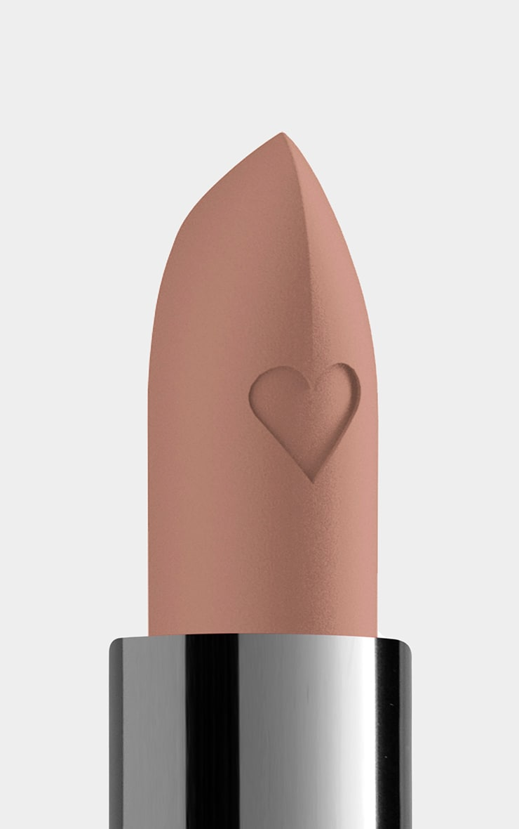 NYX PMU Shout Loud Satin Lipstick Yellow Nude A La Mode 3