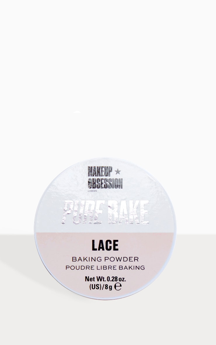 Makeup Obsession Pure Bake Baking Powder Lace 1