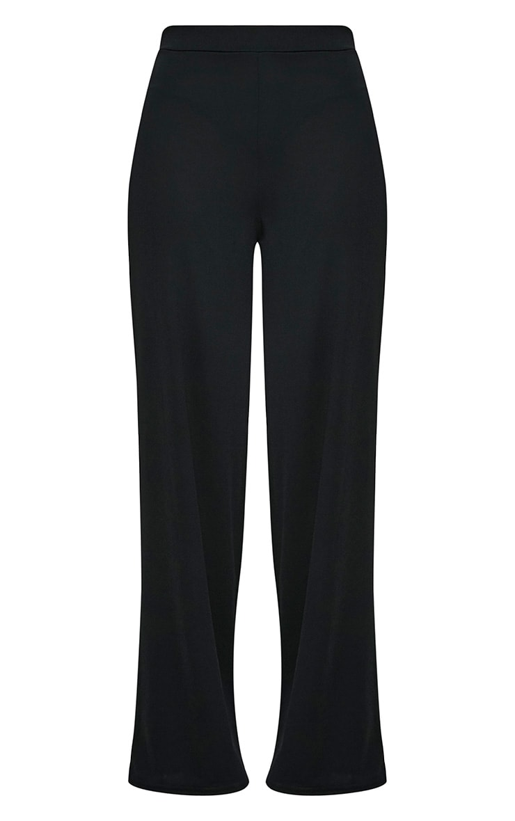 Solomon Black Crepe Pants 3
