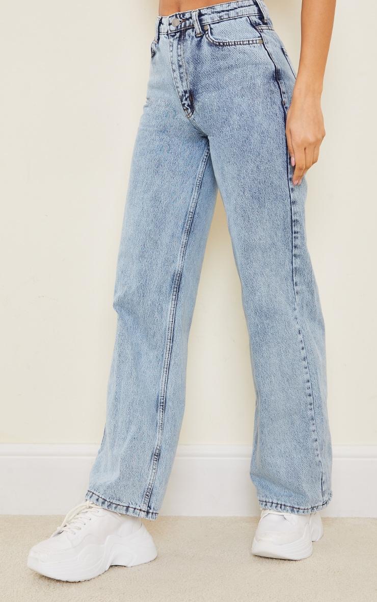 Vintage Wash Boyfriend Jeans 2