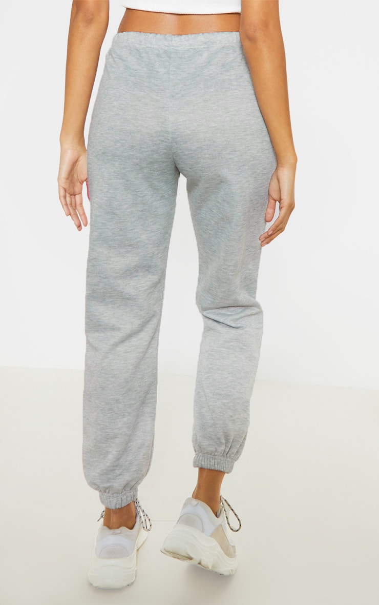 Black & Grey Basic Cuffed Hem Sweatpants 2 Pack 4