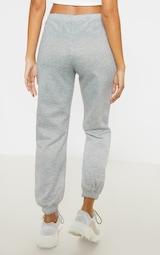 Black & Grey Basic Cuffed Hem Sweatpants 2 Pack 4