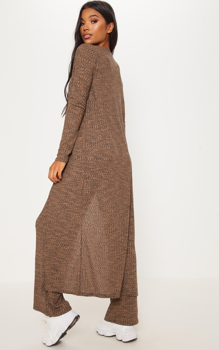 Stone Knitted Maxi Cardigan