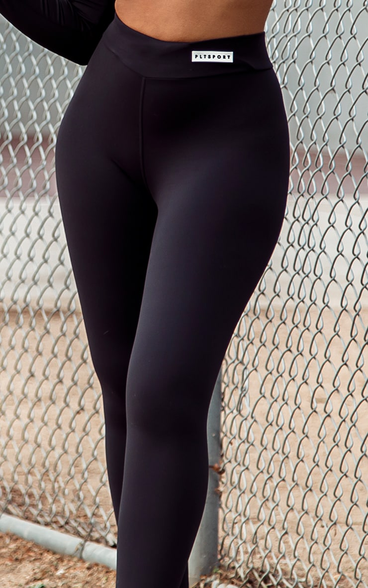 PRETTYLITTLETHING Black Sculpt Luxe Gym Leggings 5