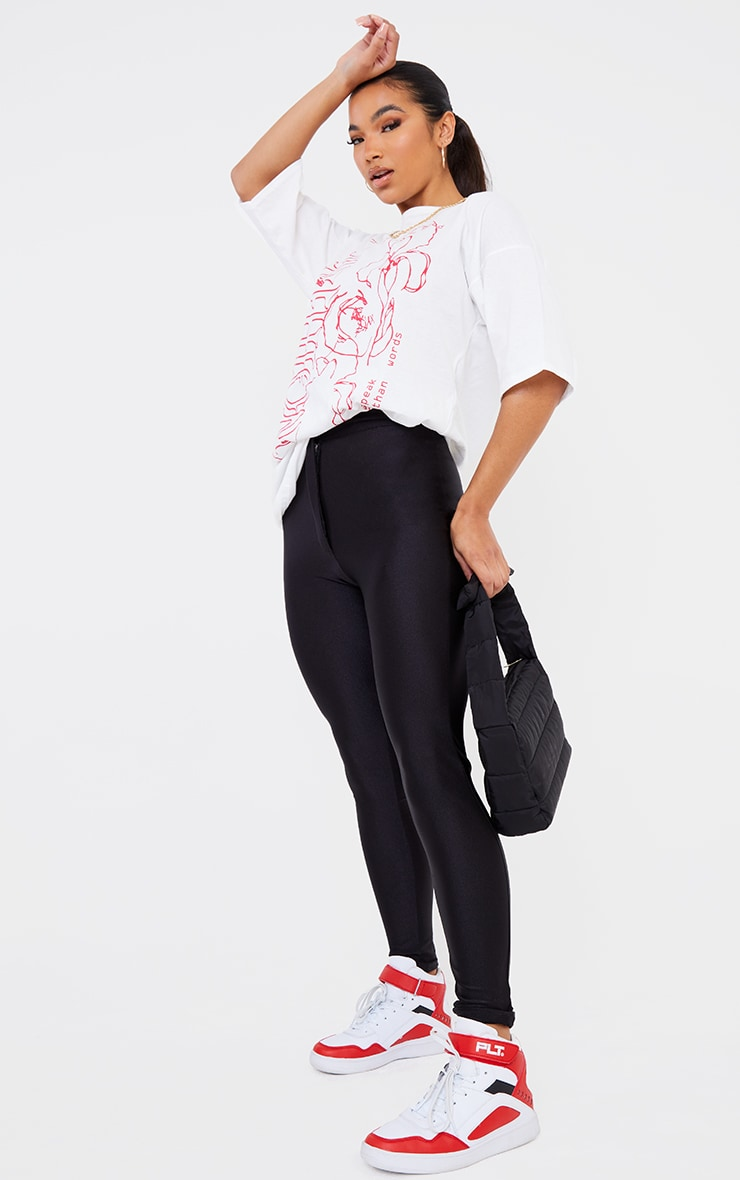 Seconde Peau - Pantalon disco noir 1