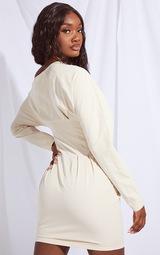 Tall Stone Detail Corset Long Sleeve Dress 2