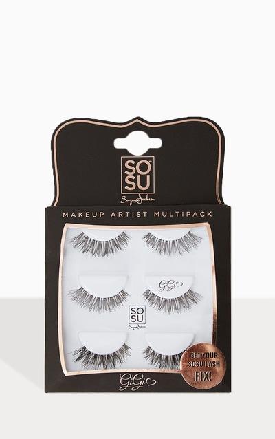 30df36b2a93 SOSUBYSJ Gigi Multipack False Eyelashes PrettyLittleThing Sticker