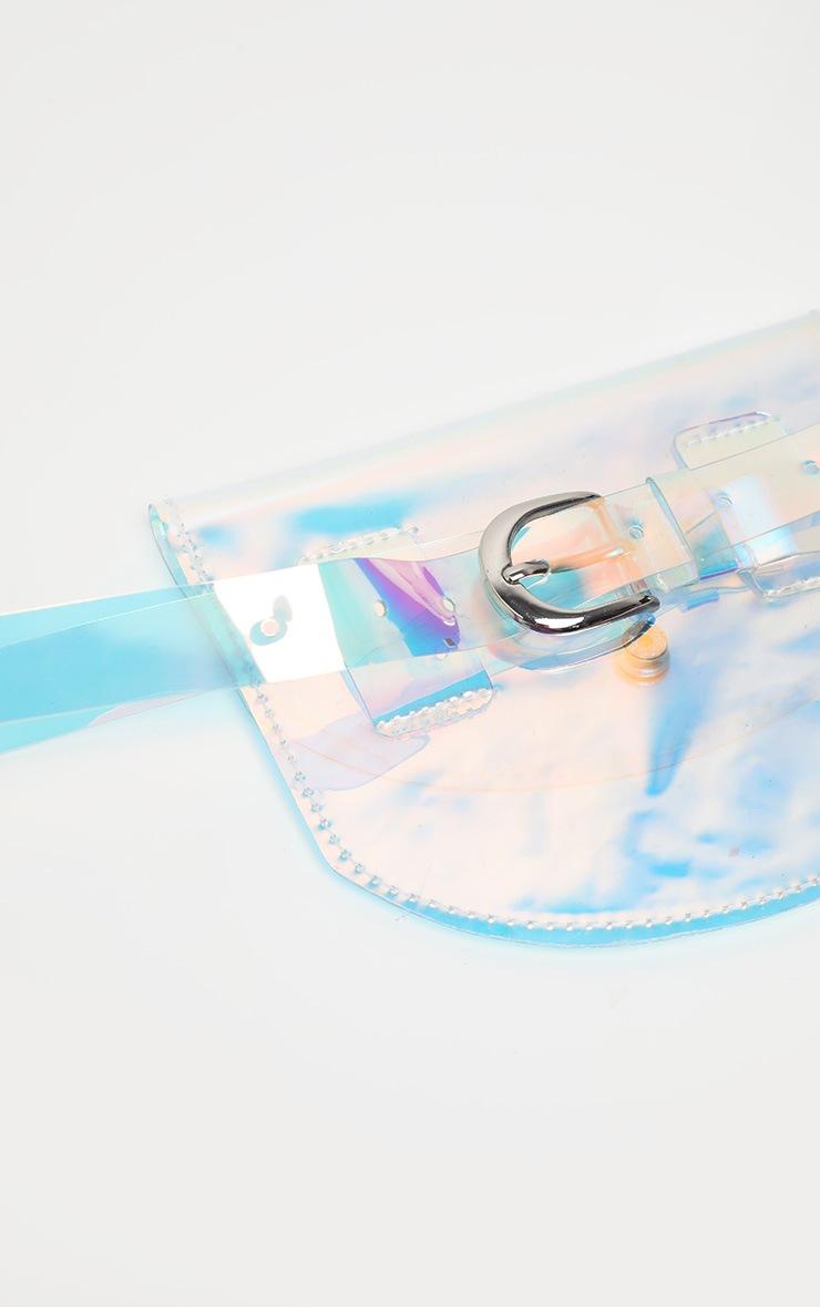Multi Holographic Clear Belt Bag 2
