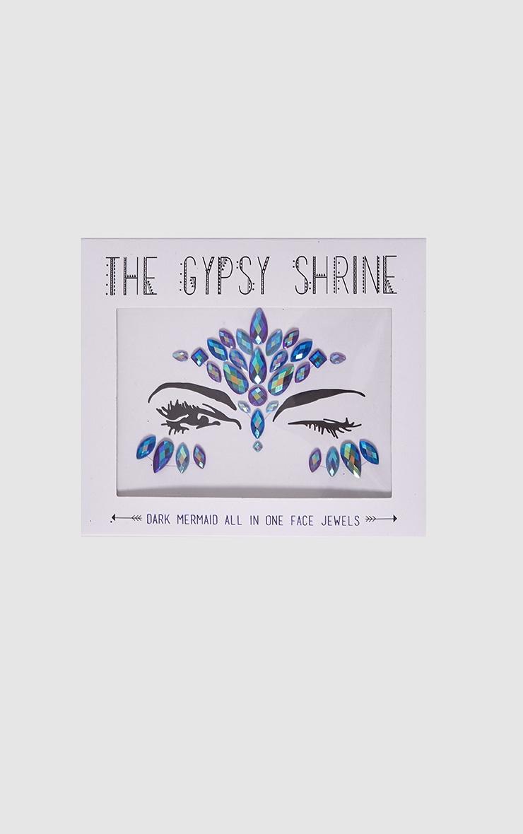 The Gypsy Shrine Halloween Dark Mermaid Face Jewels 2