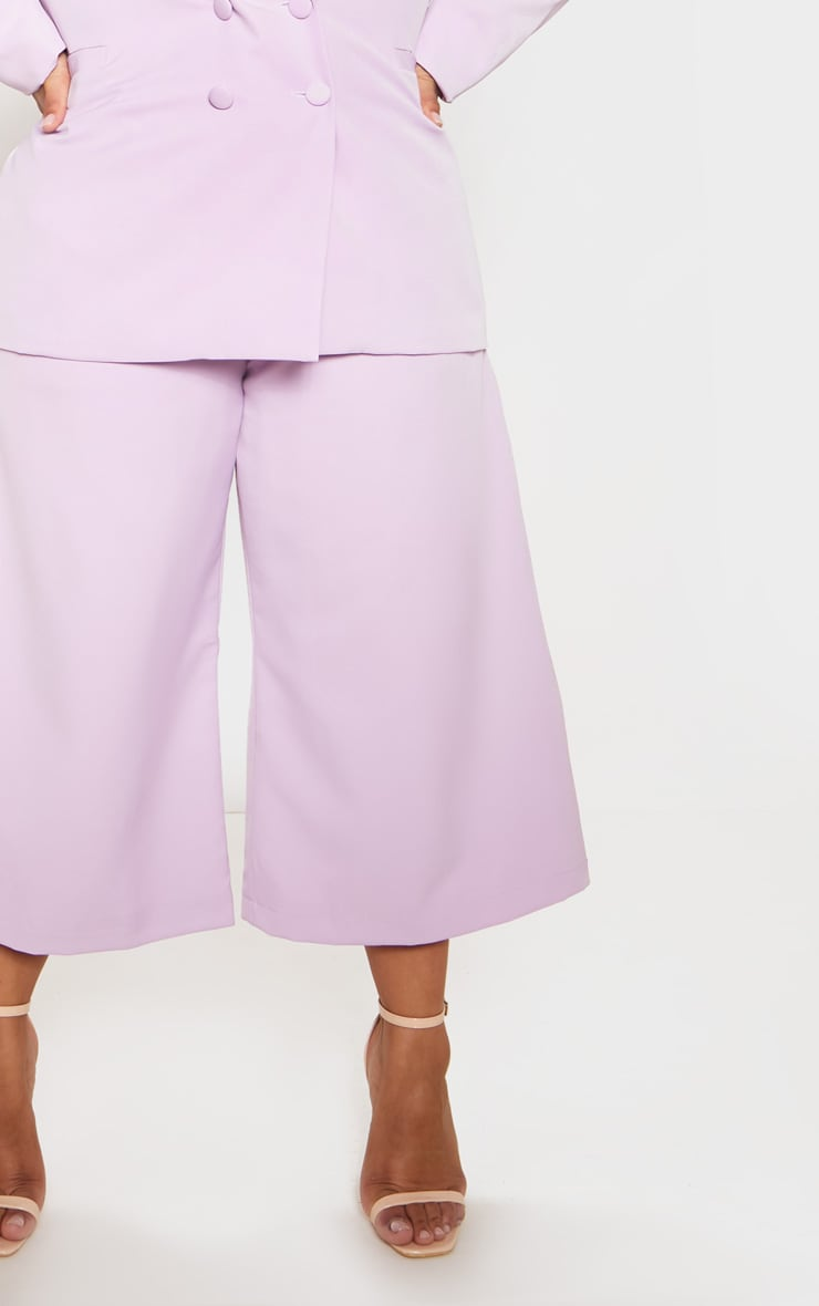 Lilac High Waisted Culottes 6