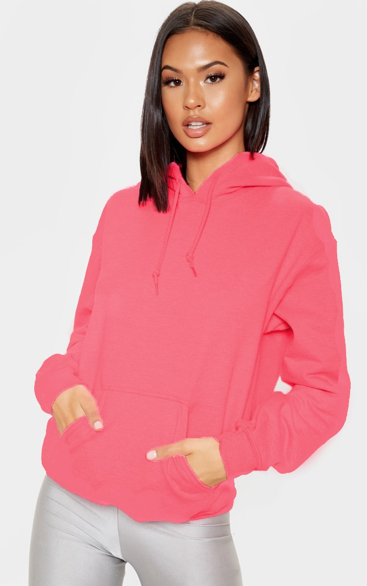 Pink Ultimate Oversized Hoodie 4