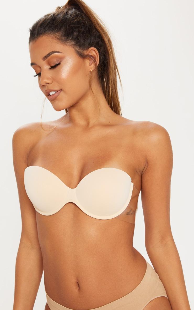 Winged Boost Nude Bra 1