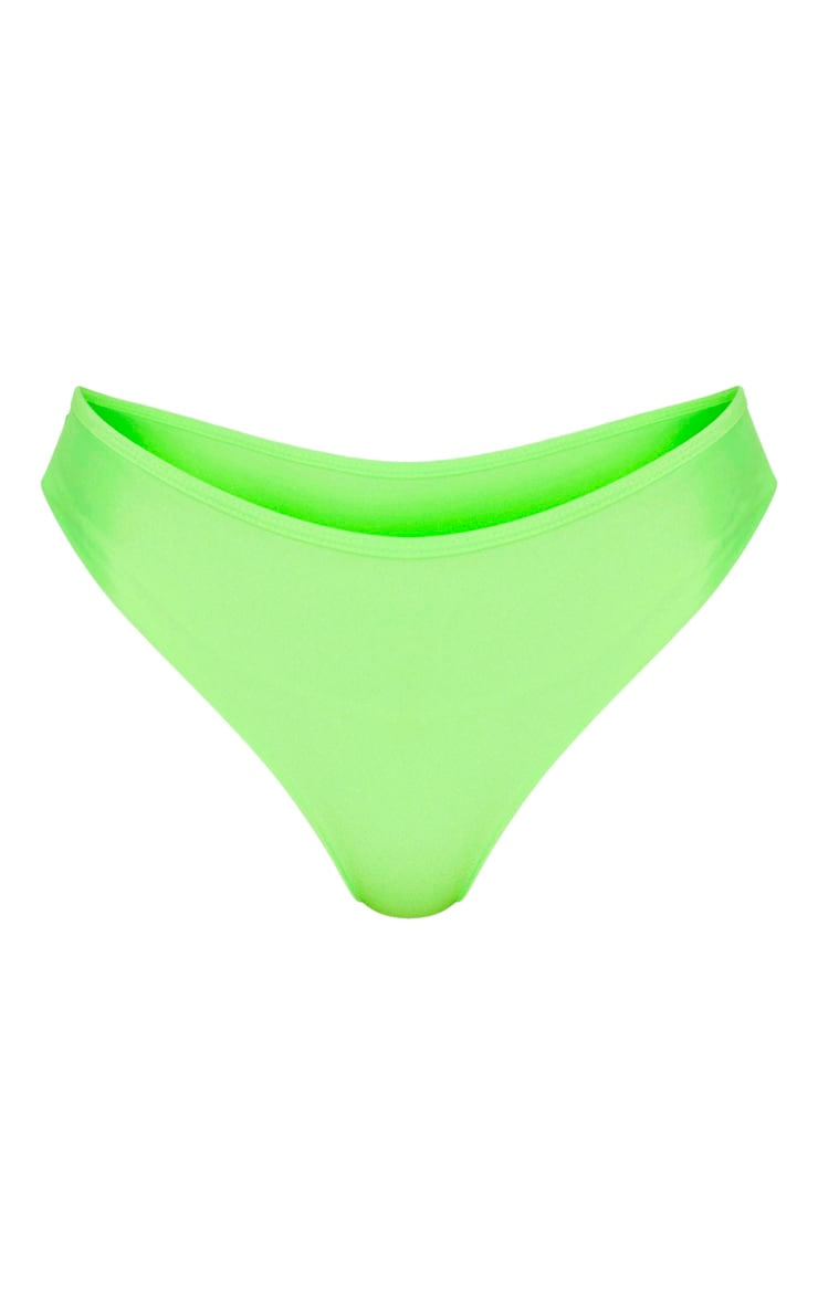 Lime Mix & Match Cheeky Bum Bikini Bottom 3