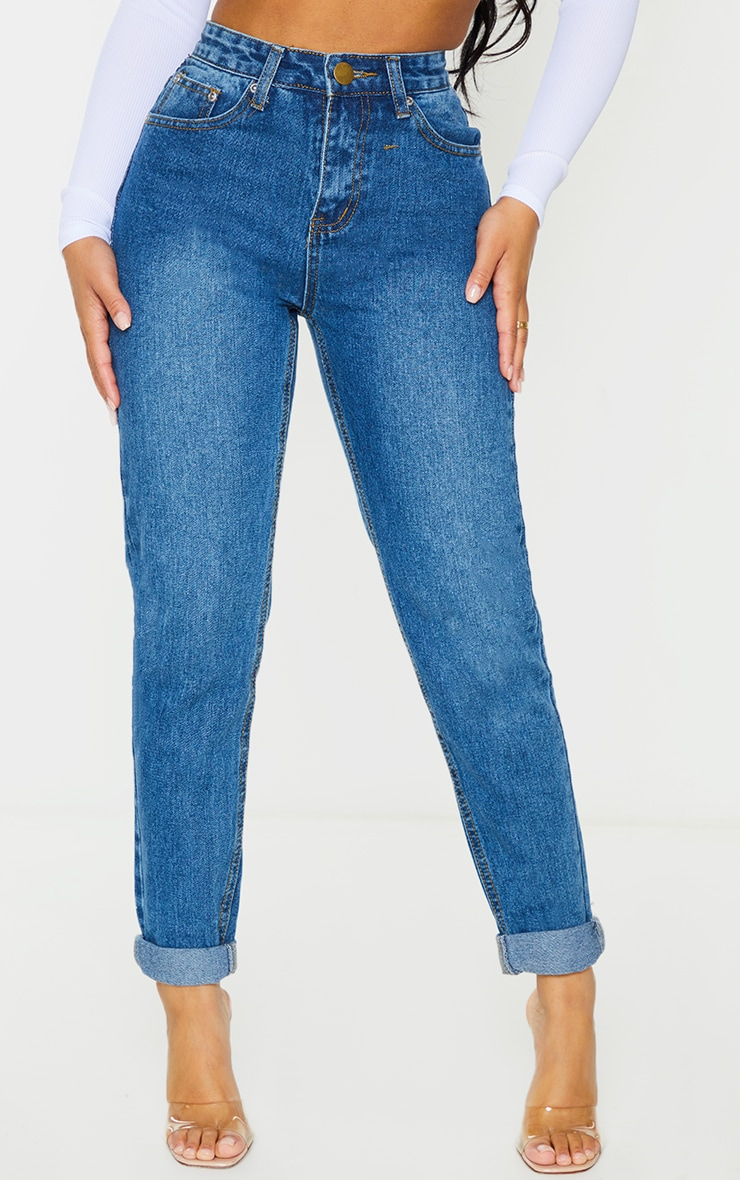 Petite Midwash Mom Jeans 2