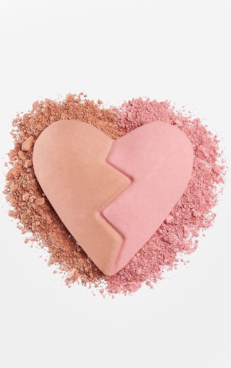 I Heart Revolution Heartbreakers Matte Blush Creative 4