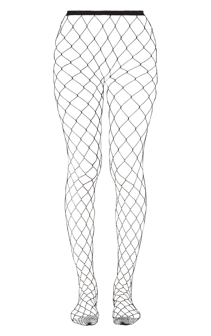 Collants noirs irisés à strass 3