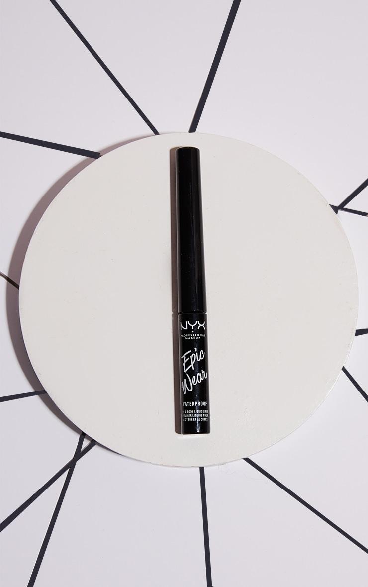 NYX PMU Epic Wear Metallic Liquid Liner Black Metal 1