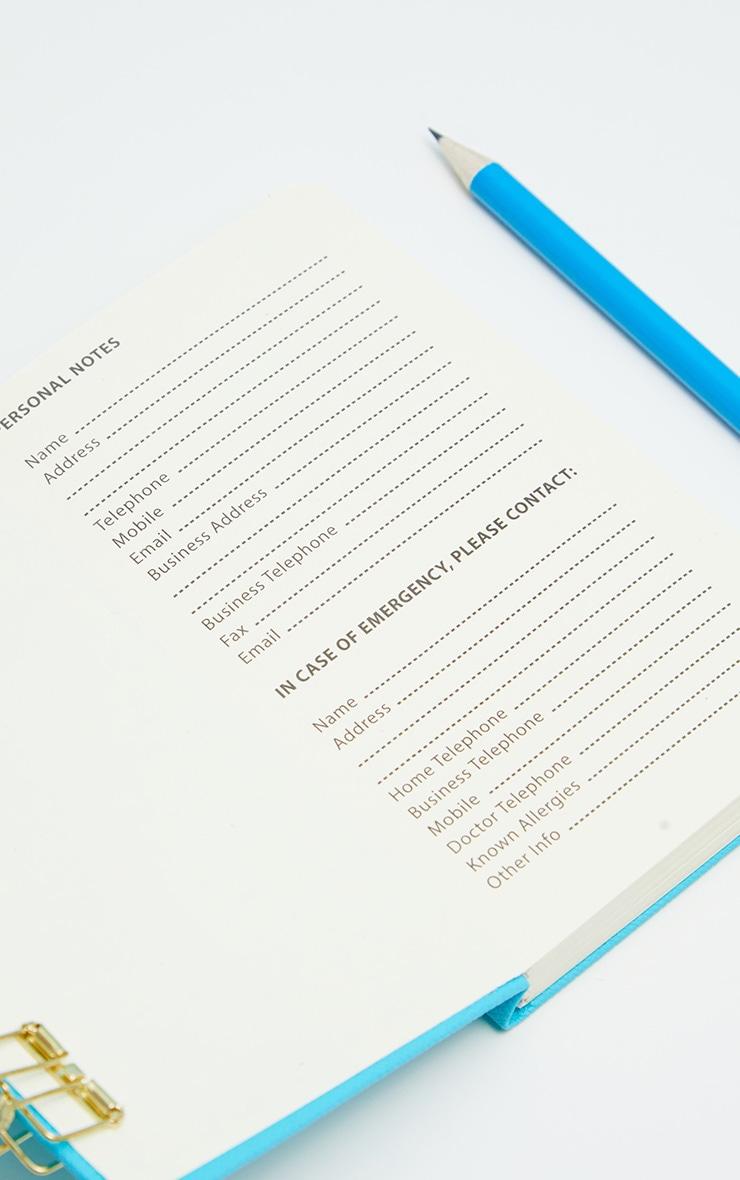 Blue Neon A6 Notebook  2
